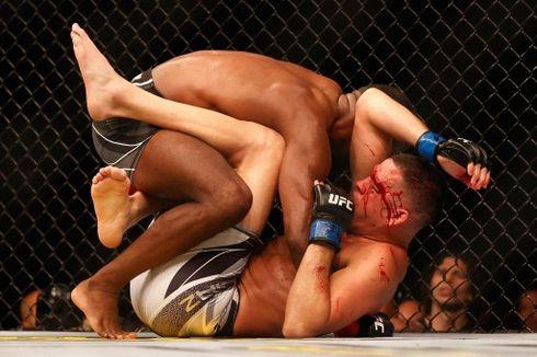 Hasil UFC 263 - Nate Diaz Babak Belur, Adesanya Pertahankan Tahta