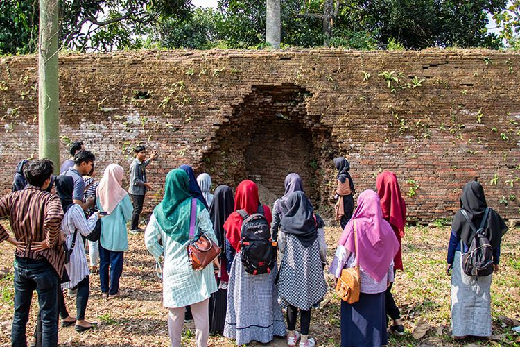 Situs Jebolan Pecinan di Keraton Kartasura