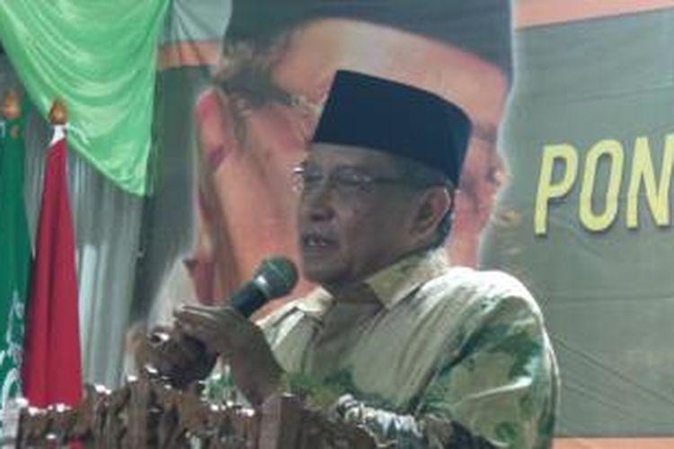 Ketua Umum Pengurus Besat Nahdlatul Ulama (PBNU) Said Aqil Siradj