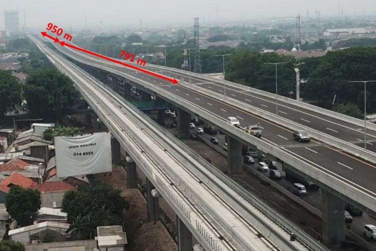 Jalan Tol Layang Jakarta-Cikampek atau Tol Jakarta-Cikampek II Elevated