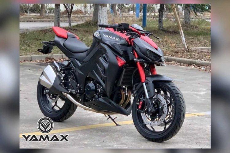 Yamax Z400, moge tiruan dari Kawasaki Z1000