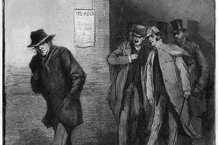 Ilustrasi Jack the Ripper. [Via Wikimedia Commons]