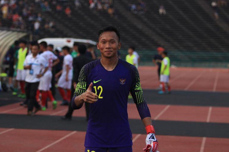 Kiper timnas U-22 Indonesia, Awan Setho.