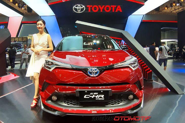 Toyota C-HR Hybrid di GIIAS 2019