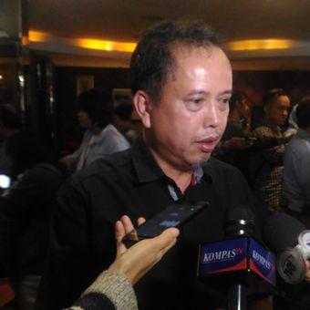 Ketua Presidium Indonesia Police Watch (IPW) Neta S Pane dalam diskusi bertamakan Jelang Debat Siapa Hebat di Jakarta, Sabtu (12/1/2019).