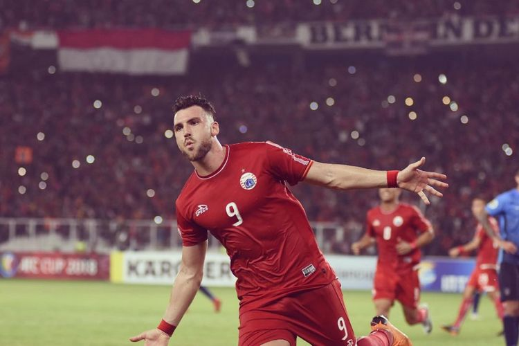 Striker Persija Jakarta, Marko Simic