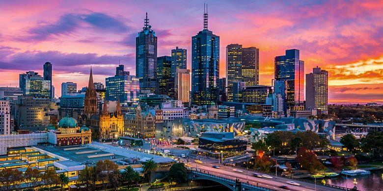 Kota Melbourne, Australia