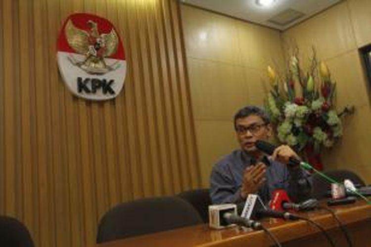 Juru Bicara Komisi Pemberantasan Korupsi (KPK) Johan Budi
