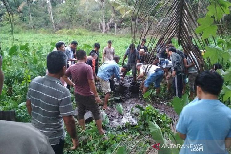 Mahasiswi bengkulu ditemukan terkubur