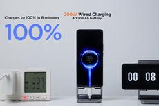 Teknologi HyperCharge Xiaomi Isi Penuh Baterai Ponsel dalam 8 Menit