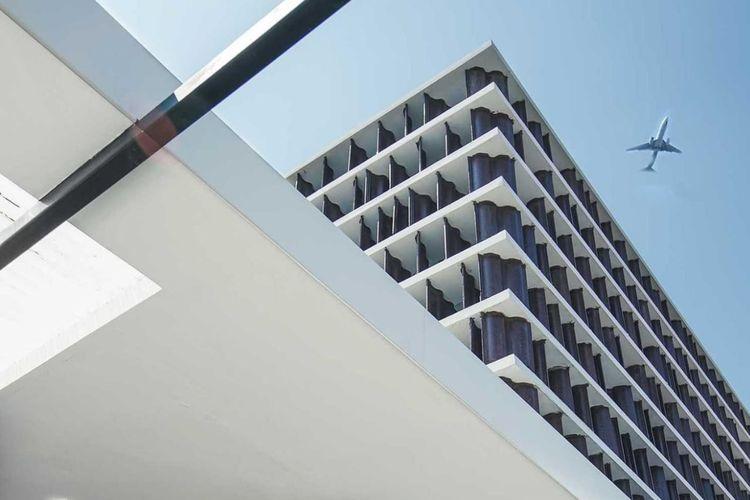 Rumah Genteng menonjolkan gaya minimalis semenjak tampilan luar, karya SASO.