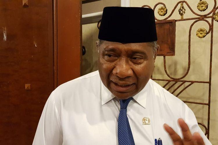 Ali Taher saat menjabat Ketua Komisi VIII DPR RI, ketika ditemui di Menara Peninsula, Slipi, Jakarta Barat, Senin (2/9/2019).