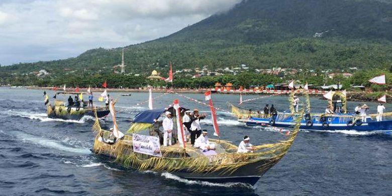 Festival Tidore 2017 di Kepulauan Tidore, Maluku Utara dimulai sejak 29 Maret 2017 hingga acara puncak pada 12 April 2017.