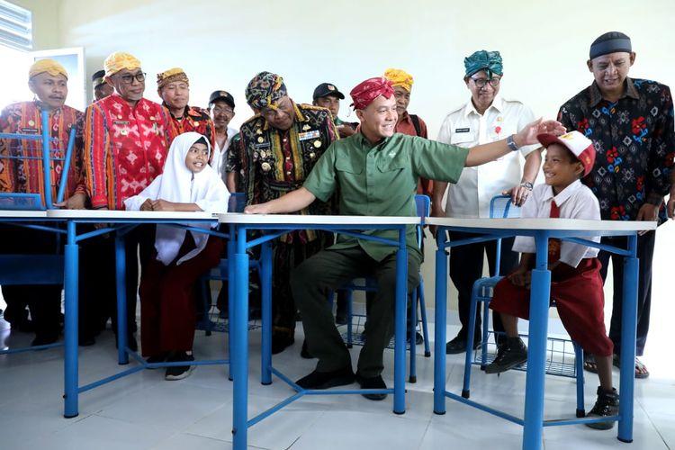 Melihat Sekolah Tahan Gempa Sumbangsih Warga Jateng di Donggala