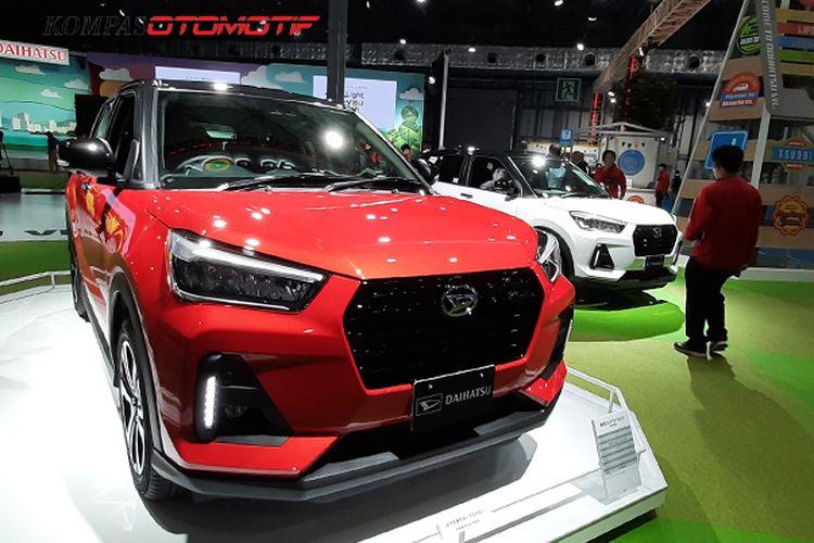 Daihatsu Rocky saat meluncur di Tokyo Motor Show 2019