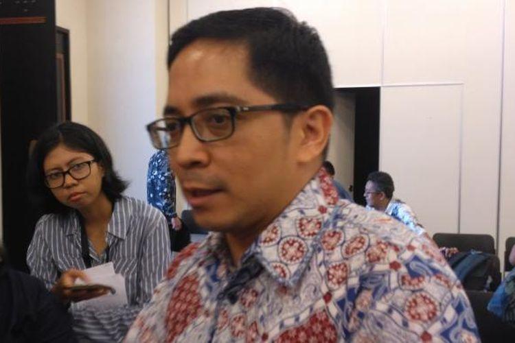 Direktur Eksekutif Centre for Strategic and International Studies (CSIS), Philips J Vermonte di kantor CSIS, Jakarta, Selasa (13/9/2016).