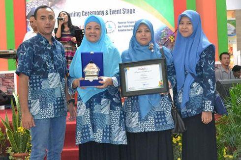 Batik Pamiluto Ceplokan Jadi Ikon Baru Kabupaten Gresik