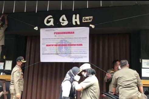 Langgar Aturan, New GSH and Resto di Cengkareng Disegel Satpol PP