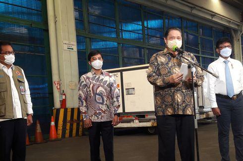 Menko Airlangga: Indonesia Kembali Kirim Tabung Oksigen ke India