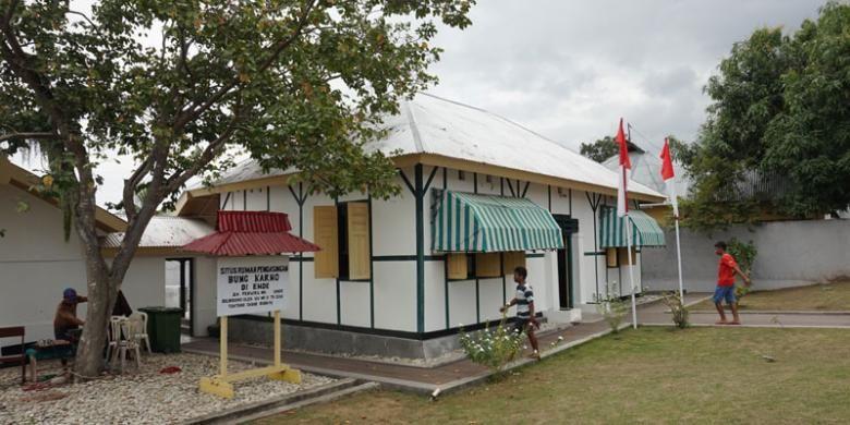 Rumah pengasingan Bung Karno di Jalan Perwira, Ende, Flores, Nusa Tenggara Timur.