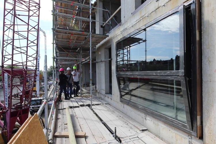 Konsep jendela Bloomframe umumnya sangat cocok digunakan untuk apartemen di perkotaan.