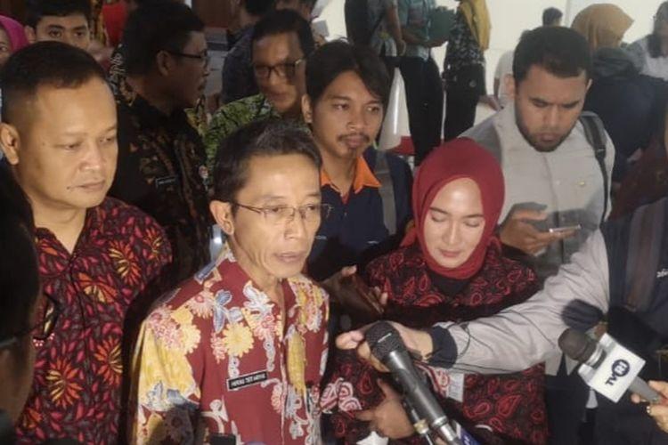 Sekda Jateng Herru Setiadhie saat ditemui awak media di Gedung Gradhika Bakti Praja, komplek Gubernuran, Semarang, Rabu (11/12/2019).