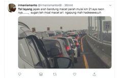 Polisi: Macet Tol Layang Cikampek Tadi Siang karena Ada Mobil Overheat