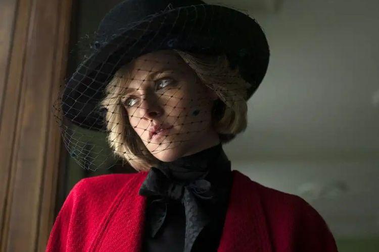 Kristen Stewart memerankan Putri Diana dalam film Spencer.