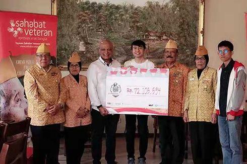 PUBG Mobile Serahkan Donasi Rp 72 Juta pada Para Veteran Indonesia.