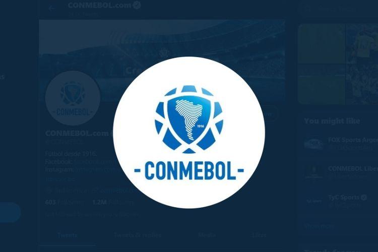 Logo Federasi Sepak Bola Amerika Selatan (Conmebol).