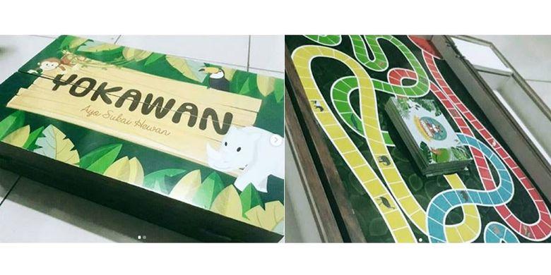 Yokawan, permainan karya 5 mahasiswi IPB yang terinspirasi film Jumanji.