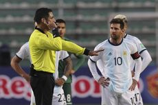 VIDEO - Laga Bolivia Vs Argentina Rusuh, Lionel Messi Terlibat