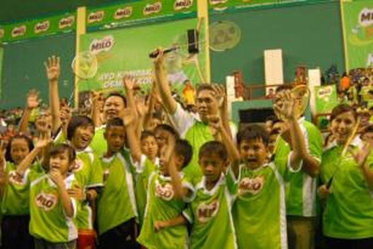 Peremsian Milo School Competition Surabaya, Senin (17/03/2014)