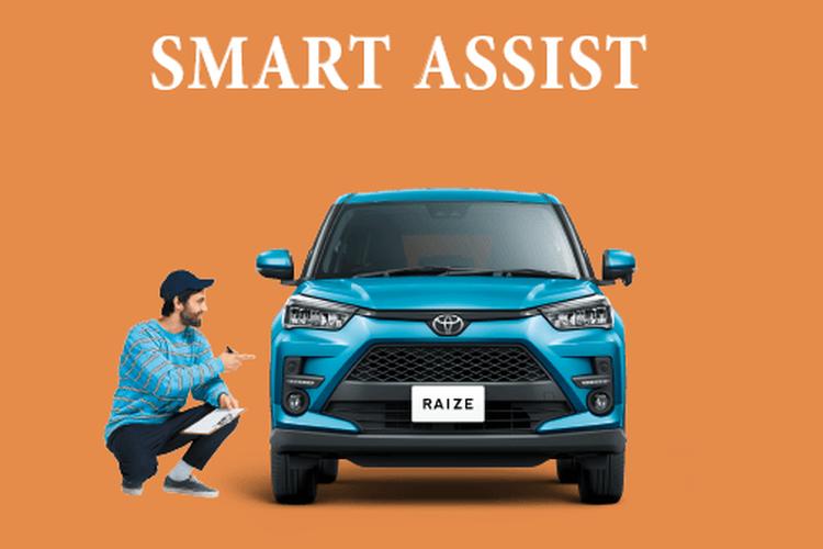 Fitur smart assist jadi salah satu andalan pada Toyota Raize.
