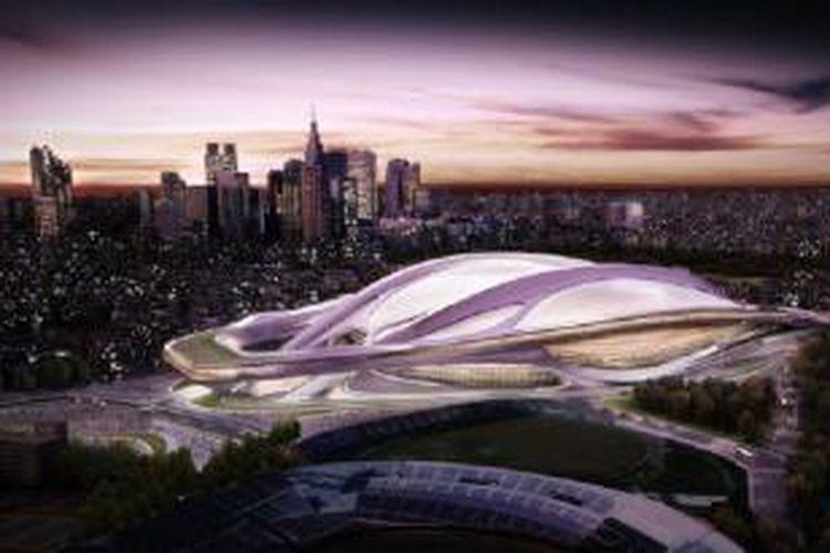 Kandidat tuan rumah Olimpiade 2020, Tokyo, berencana membangun stadion berkapasitas 80.000 tempat duduk.