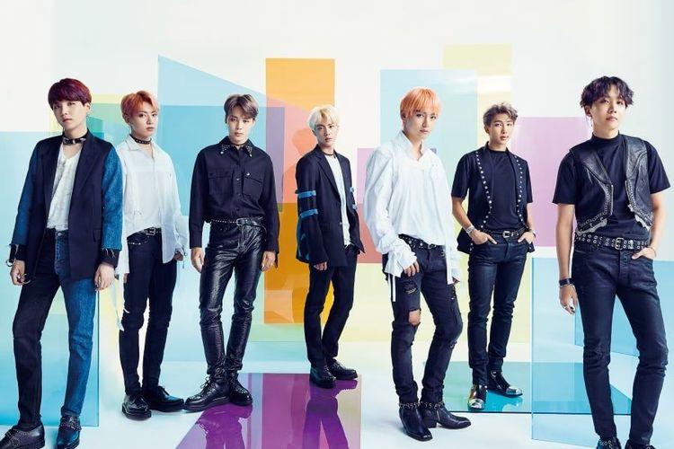 Boyband bentukan Big Hit Entertainment, BTS.