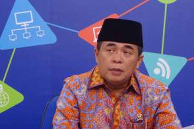 Ketua DPR RI Ade Komarudin saat berkunjung ke Redaksi Kompas.com, Palmerah, Jakarta, Rabu (24/8/2016)