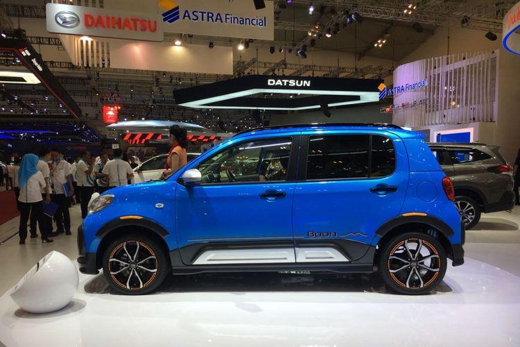 Daihatsu Boon Active di GIIAS 2018.