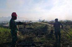 Puluhan Hektar Lahan Gambut di Rohul Riau Terbakar, TNI-Polri Turun Tangan