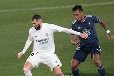 Susunan Pemain Celta Vigo Vs Real Madrid - Benzema Starter, Ramos Absen