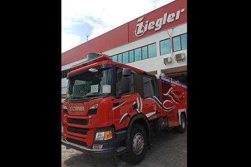 Ziegler Rilis Truk Pemadam Kebakaran Dual Pump Berbasis Komputerisasi
