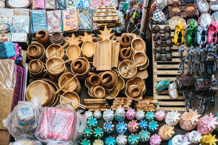 Produk ekonomi kreatif Bali.