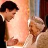 Saat Ratu Elizabeth Bersama PM Justin Trudeau di Istana Buckingham...