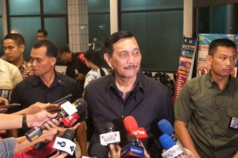 Minggu Sore hingga Malam, Sejumlah Pejabat Bergantian Jenguk Wiranto