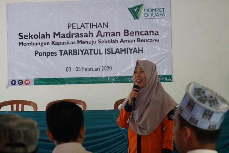 Di Lombok Utara, Dompet Dhuafa Gelar Pelatihan Sekolah Madrasah Aman Bencana