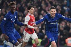 Chelsea Vs Arsenal, Laga Derbi London Berakhir Imbang