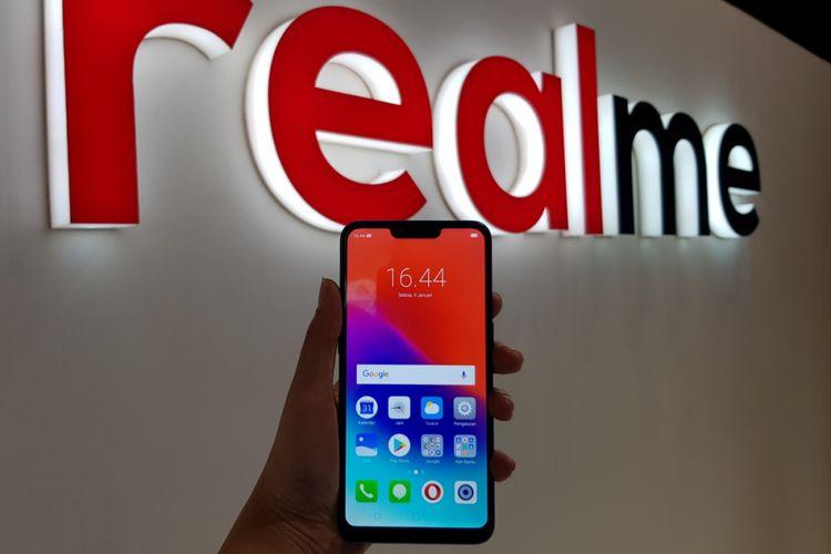 Realme C1 meluncur di Indonesia, Selasa (9/10/2018).