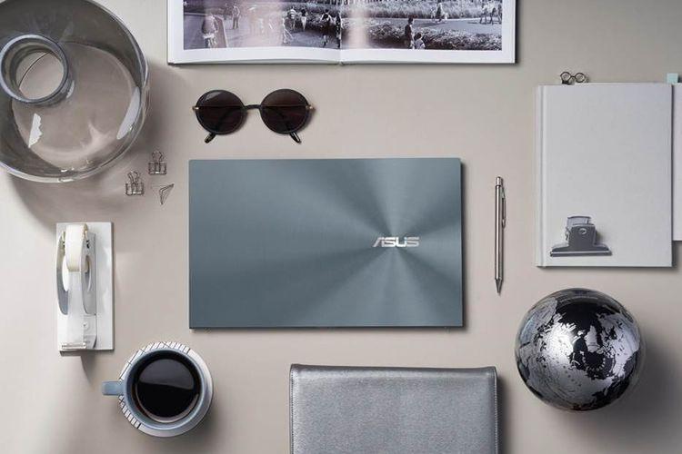 Ilustrasi laptop ZenBook 14 Ultralight (UX435EAL)