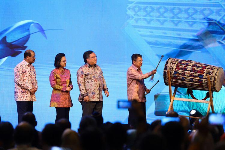 Wakil Presiden RI periode 2014-2019, Jusuf Kalla Membuka Konferensi SGDs 2019.