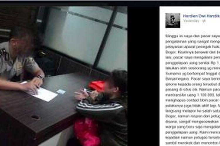 Lapor Polisi Karena Tertipu Rp 1 2 Juta Korban Malah Diminta Mengikhlaskan Halaman All Kompas Com